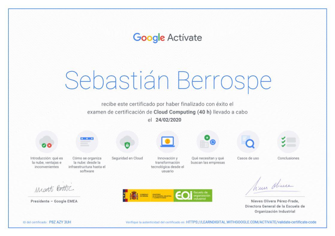 Certificación Cloud Computing Bogotá Colombia