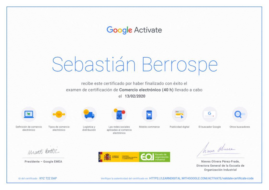 Certificación Comercio Electrónico Bogotá Colombia