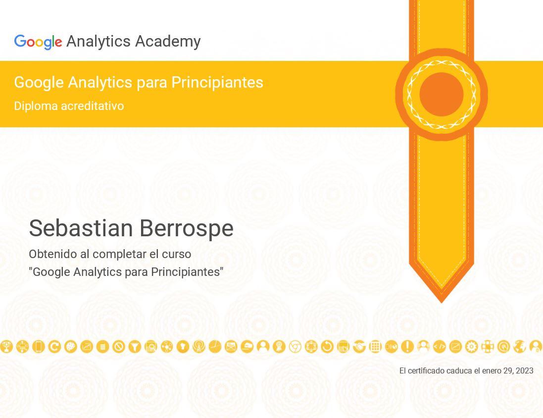 Certificación Google Analytics Básico